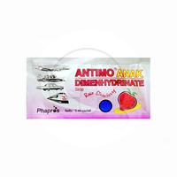 Antimo Anak Rasa Strawberry Sachet 5 mL (1 Sachet)