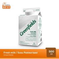 Greenfields Fresh Milk / Susu Pasteurisasi 500 ml