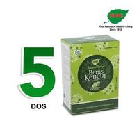 Jamu IBOE - 5 Box IBOE Natural Drink Beras Kencur 5 Sachet