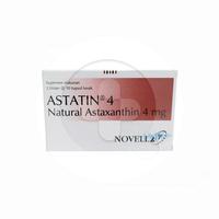 Astatin Kapsul 4 mg (1 Strip @ 10 Kapsul)