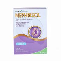 Nephrisol Susu Bubuk Rasa Vanilla 185 g