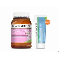 Blackmores Pregnancy & Breast-Feeding Gold (180) FREE Vitamin E Cream