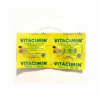 Vitacimin Rasa Lemon Tablet Hisap 500 mg (1 Strip @ 2 Tablet)