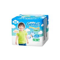 Nepia Genki Premium Soft Pants XL 26