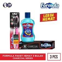 Paket Formula 3 Bulan - Charcoal Series