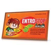 Entrostop Herbal Anak Sachet (Box - 6 Sachet)