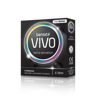 Vivo Kondom Extra Sensation (3 Pcs)