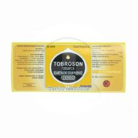 Cendo Tobroson Minidose Tetes Mata 0,6 ml (1 Strip @ 5 Botol Plastik)