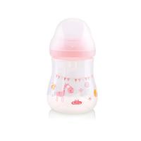 Lusty Bunny Botol Susu Wide Neck 250 ml - Pink