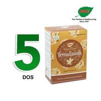 Jamu IBOE - 5 Box IBOE Natural Drink Temulawak 5 Sachet