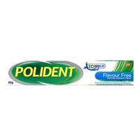 Polident Denture Adhesive Cream Flavour Free 60 g