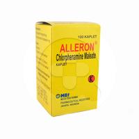 Alleron Kaplet 4 mg (1 Botol @100 Kaplet)