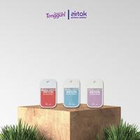 Airtok Parfume Sanitizer Bundling 3 Pack (Red + Blue + Violet)