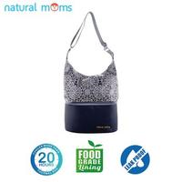 Natural Moms Thermal Bag/Cooler Bag - Tote Silver Iznik