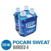 Pocari Sweat PET 350 ml - Banded 4 Botol