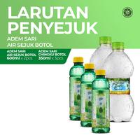 Air Sejuk Adem Sari 2 x 600 mL & Adem Sari Ching Ku Botol 3 x 350 mL