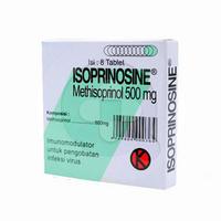 Isoprinosine Tablet 500 mg (1 Strip @ 8 Tablet)