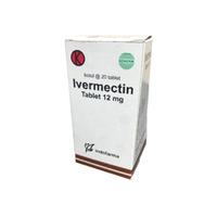 Ivermectin Tablet 12 mg (1 Botol @ 20 Tablet)