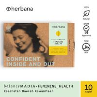 Herbana Balance Madia Feminine Health - 10 Kaplet