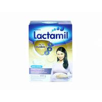 Lactamil Lactasis Susu Ibu Menyusui Rasa Vanila Box - 400 g