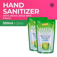 Antis Pouch Refill Jeruk Nipis 300 mL - 2 Botol