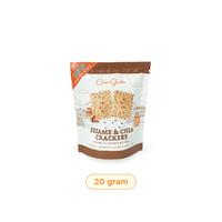 Casa Grata Mini Sesame and Chia Crackers 20 g