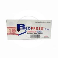 Blopress Tablet 8 mg (1 Strip @ 7 Tablet)