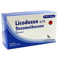 Licodexon Kaplet 0,75 mg (1 Strip @ 10 Tablet)