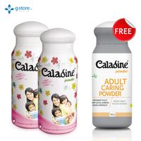 Beli 2 Caladine Powder Active Fresh 60 g Gratis 1 Caladine Adult 60 g