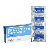 Ziloven Kaplet 4 mg (1 Strip @ 10 Kaplet)