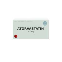 Atorvastatin Tablet 10 mg (1 Strip @ 10 Tablet)