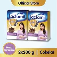 Paket 2 - Lactamil Pregnasis Minuman Ibu Hamil Coklat 200 g