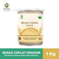 Asagri Beras Coklat Organik 1 Kg