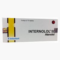 Internolol Tablet 50 mg (1 Strip @ 10 Tablet)