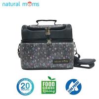 Natural Moms Thermal Bag/Cooler Bag - Sling Black Phoenix