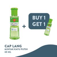 Cap Lang Minyak Kayu Putih 60 ml - Paket Isi 2