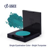 Inez Single Eyeshadow Color Bright Turquoise