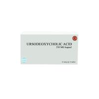 Ursodeoxycholic Acid Kapsul 250 mg (1 strip @ 10 kapsul)