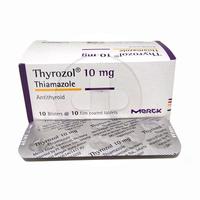 Thyrozol Tablet 10 mg (1 Strip @ 10 Tablet)