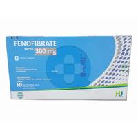 Fenofibrate Hexpharm Kapsul 300 mg (3 Strip @ 10 Kapsul)