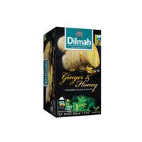 Dilmah Tea Ginger & Honey Tea (Foil Envelope 20s)