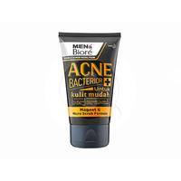 MEN'S BIORE Double Scrub Facial Foam Anti Bacterior 100 g