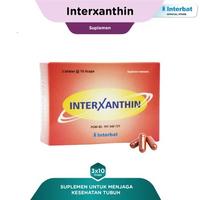 Interxanthin Kapsul 4 mg (3 Strip @ 10 Kapsul)