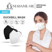 Madame Gie Protect You Duckbill Face Mask Hitam - Masker Kesehatan Isi 1 Pcs