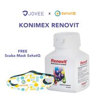 Renovit Kaplet (Botol @ 30 Kaplet) FREE Scuba Mask SehatQ