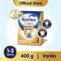 Nutrilon Royal 3 Susu Pertumbuhan 1-3 Tahun Vanila 400 g