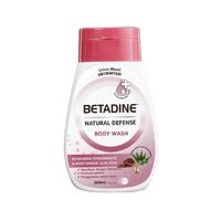 BETADINE Body Wash Antibacterial Pomegranate Bottle 200 mL
