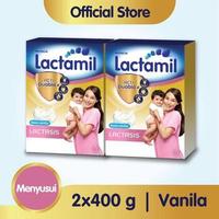 Paket 2 - Lactamil Lactasis Minuman Ibu Menyusui Vanila 400 g