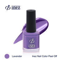 Inez Nail Color Peel Off - Lavender