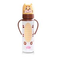 Lusty Bunny Character Feeding Bottle Botol Susu With Handle 250 ml - Kuning